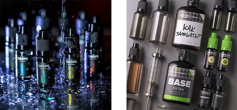 Как замешать основу и ароматизаторы, дозировка и описание